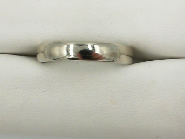 Wedding Band - Gent's 4mm White 14 Karat Wedding Band Size 9.75 HALF OFF ITEMS ARE NOT RETURNABLE