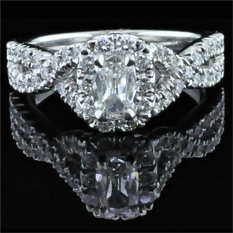 Diamond Engagement Rings - Henri Daussi Diamond Engagement Ring