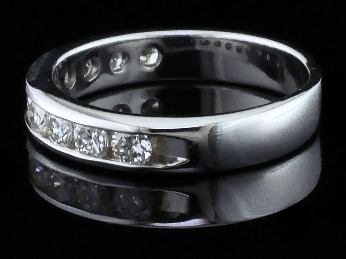 Diamond Anniversary Rings - Diamond Anniversary Ring - image #2