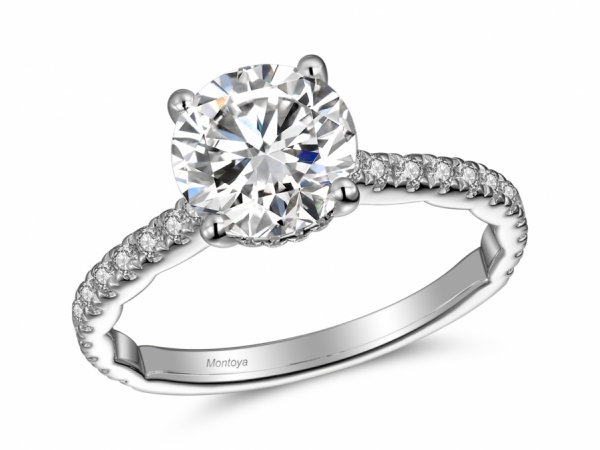 Engagement Rings - The Classy Classic Diamond Solitaire