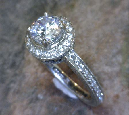 Diamond Engagement Rings/Wedding Bands - Engagement Ring - image #2