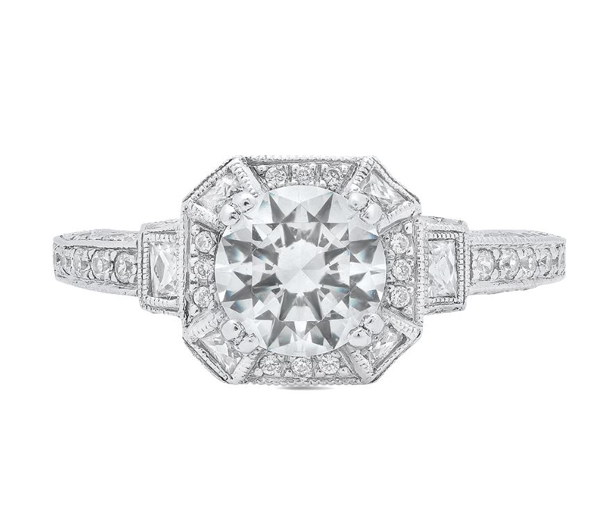 Diamond Engagement Rings/Wedding Bands - Engagement Ring - image #3