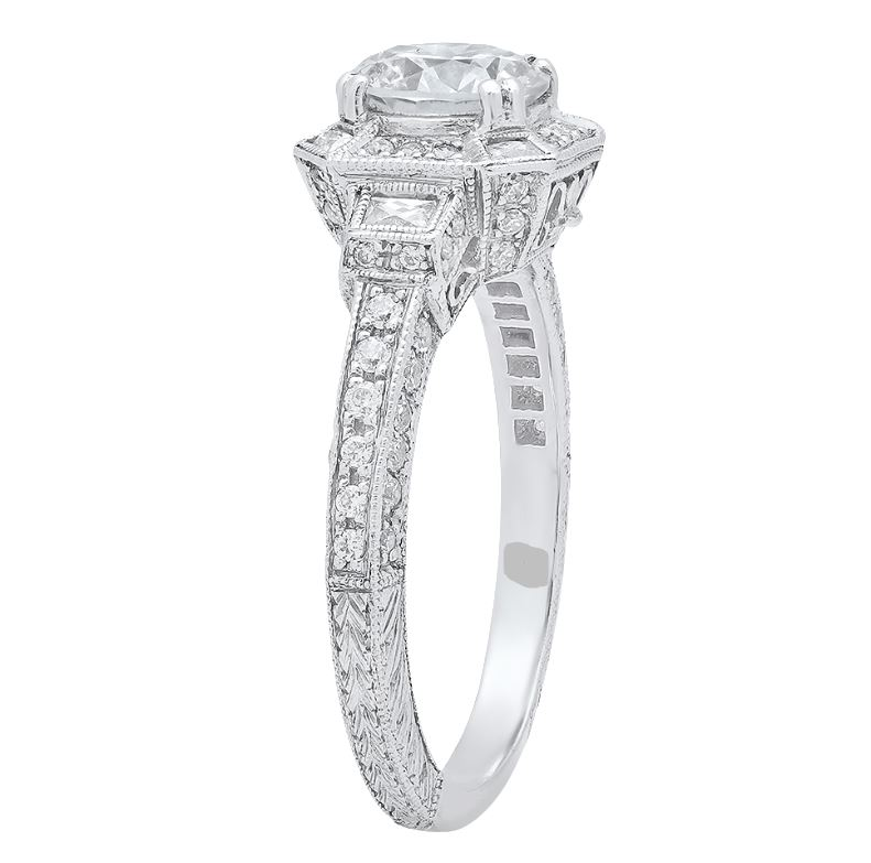 Diamond Engagement Rings/Wedding Bands - Engagement Ring - image #4