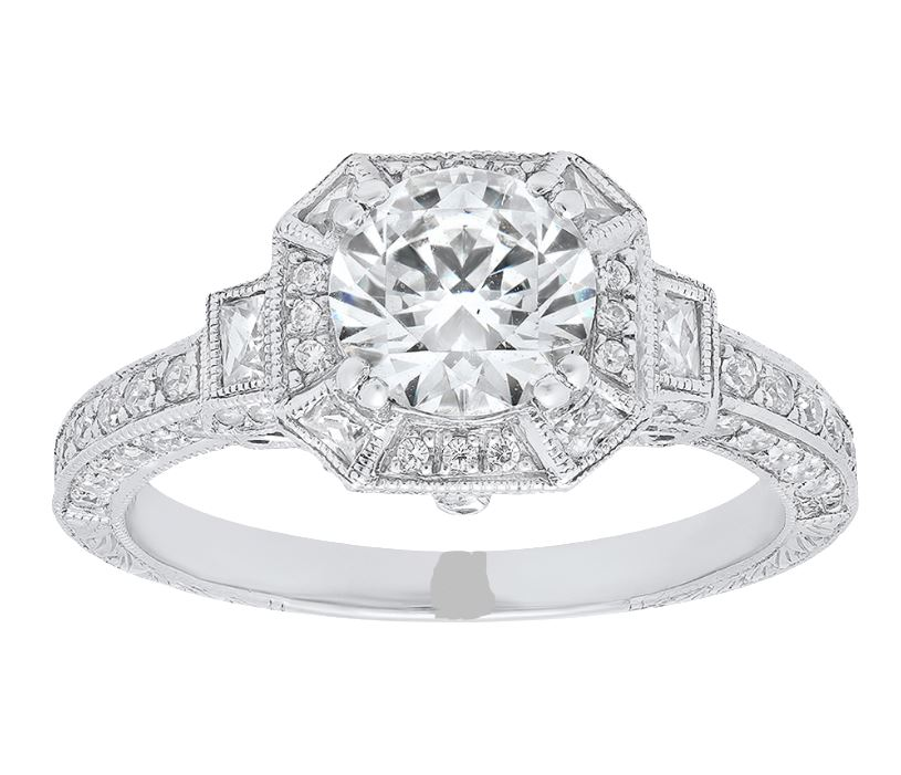 Diamond Engagement Rings/Wedding Bands - Engagement Ring