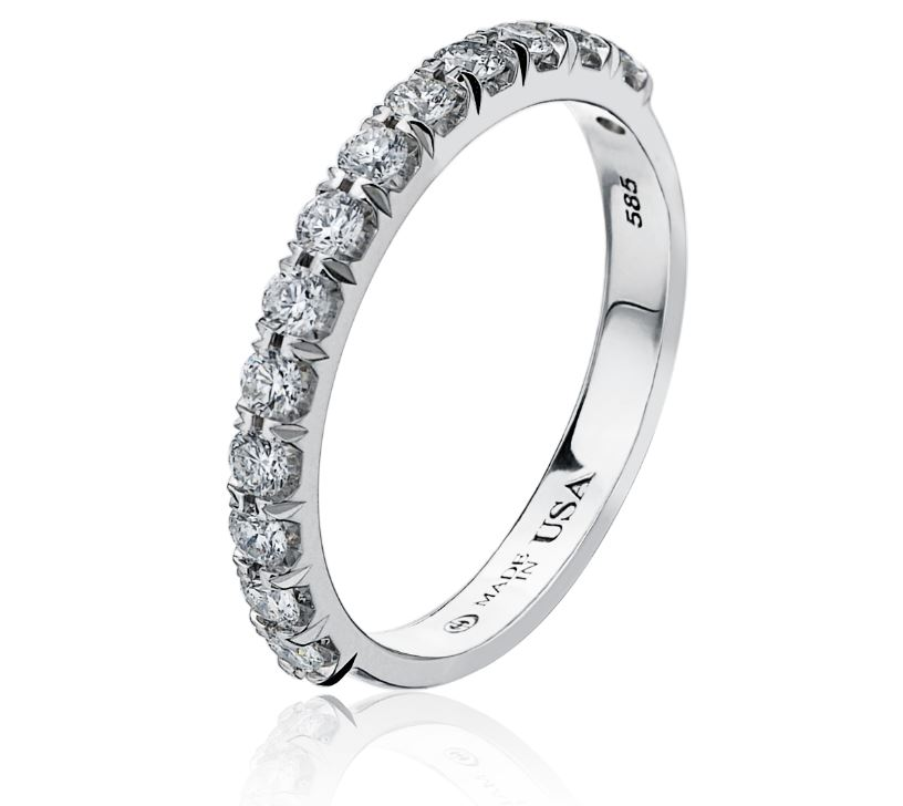 Diamond Engagement Rings/Wedding Bands - Wedding Band - image #4