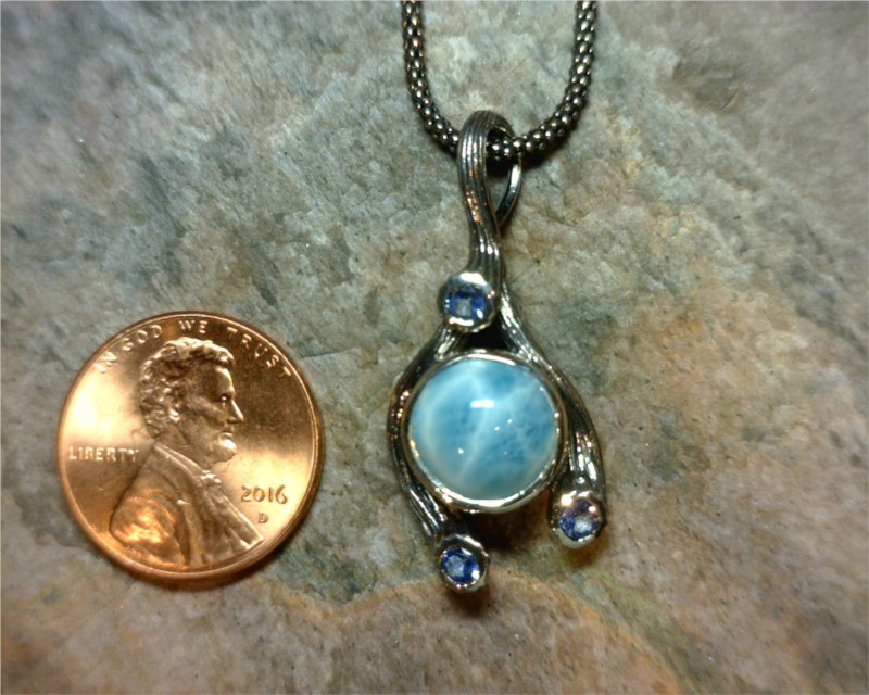 Colored Stone Pendants - Pendant - image #2