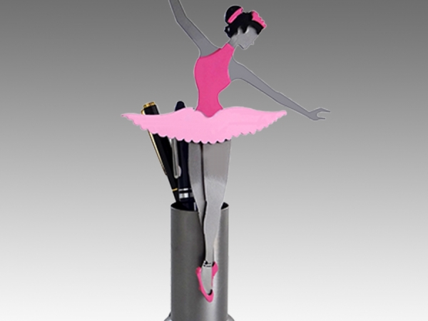 Ballerina Pen Holder