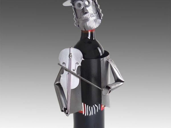 Fiddler (Jewish) Wine Bottle Holder