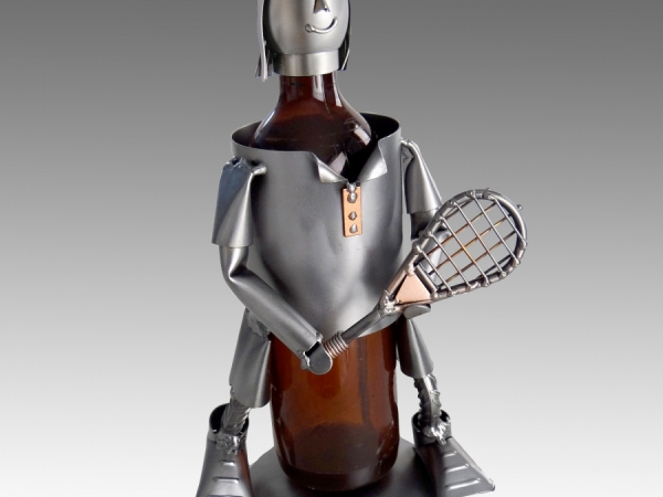 Tennis Player Female 2012 Wine Bottle Holder