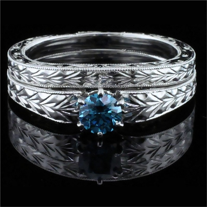 engagement cut rings diamonds stone jewellery three firemark ring diamond cushion
