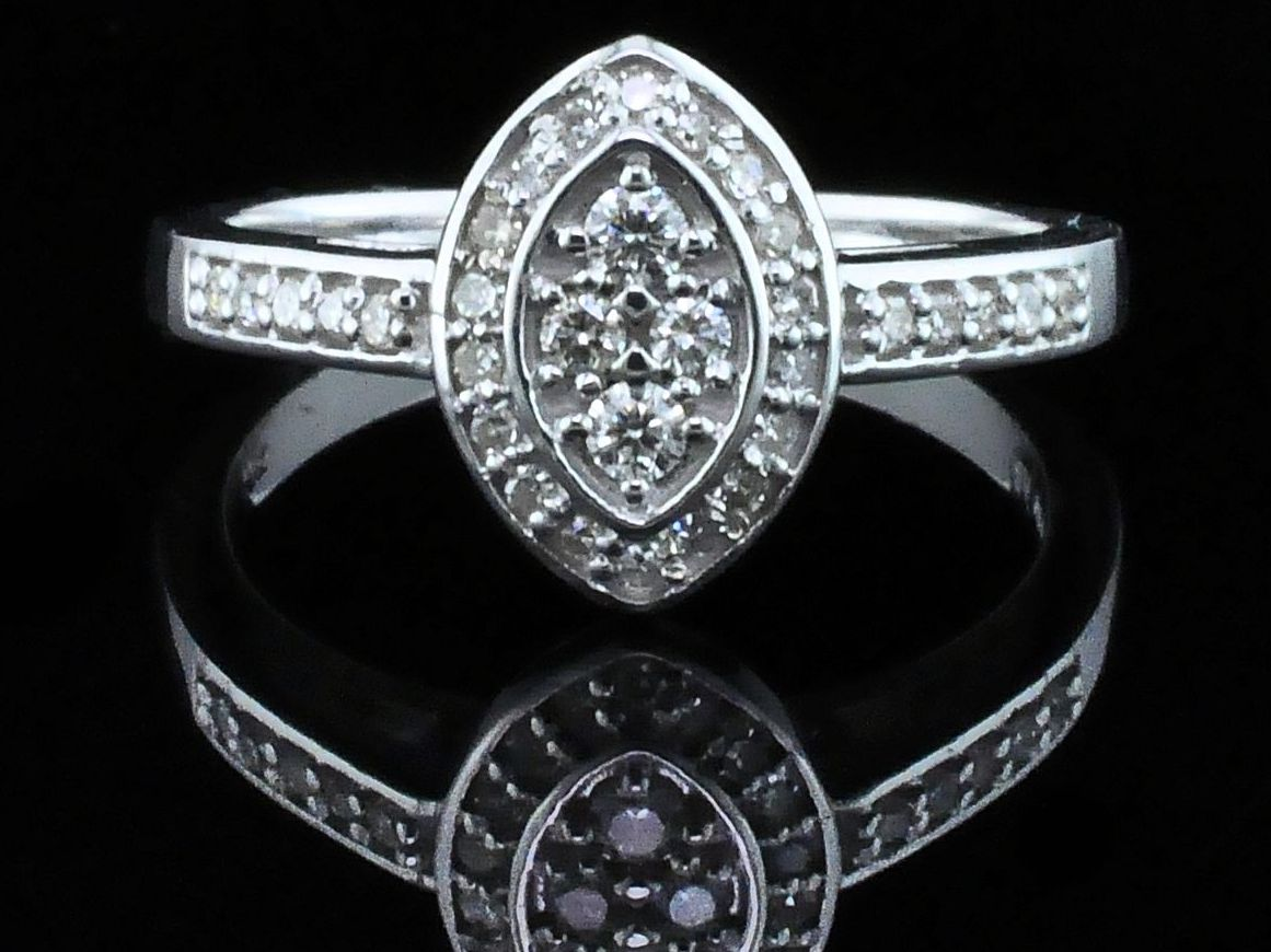 Diamond Engagement Rings - Diamond Wedding Set - image #4
