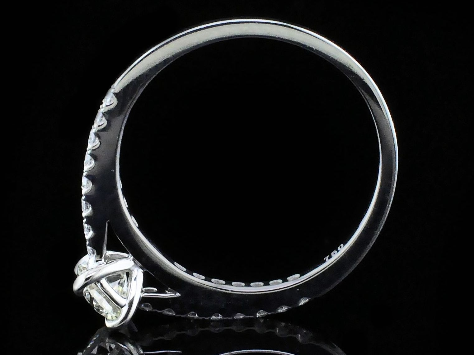 Diamond Engagement Rings - Diamond Engagement Ring - image 3
