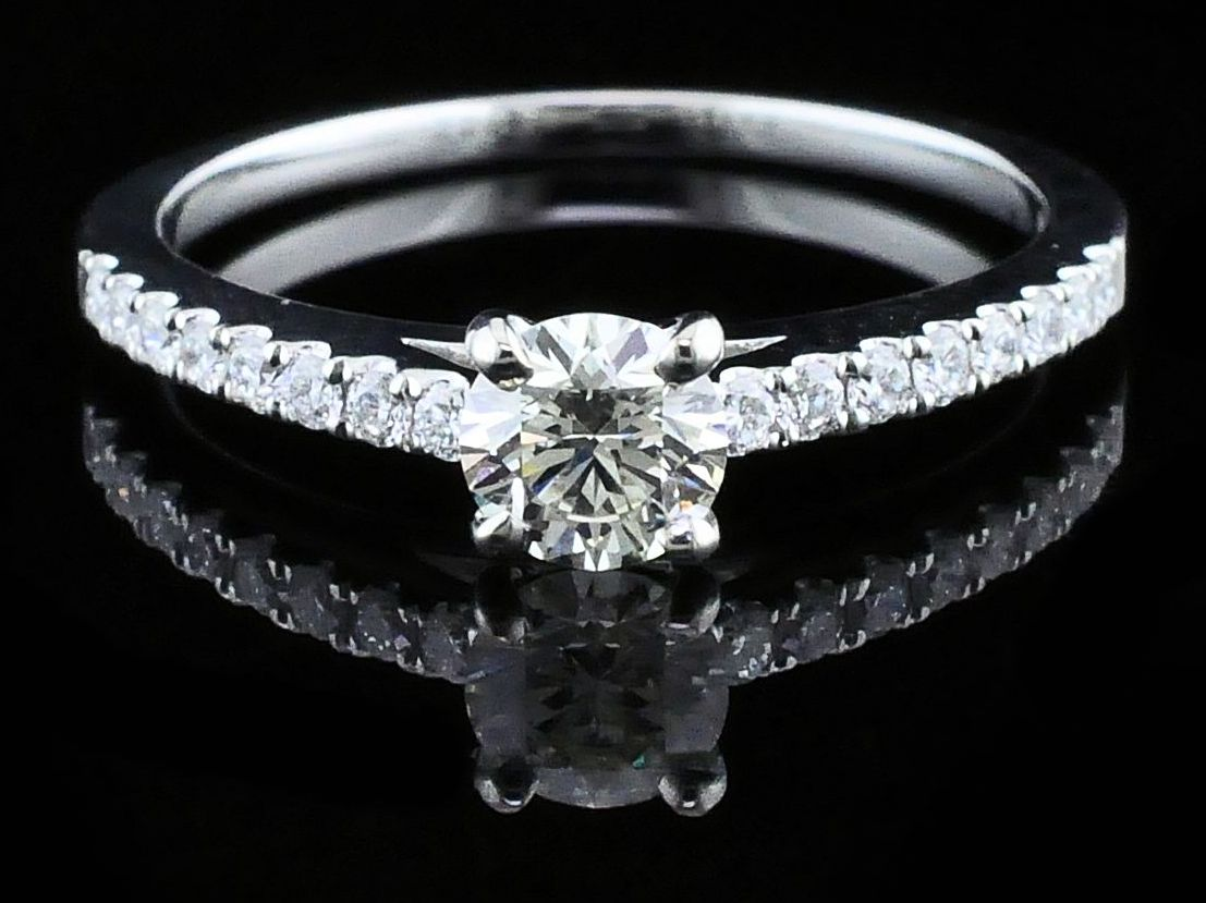 Diamond Engagement Rings - Diamond Engagement Ring - image 4