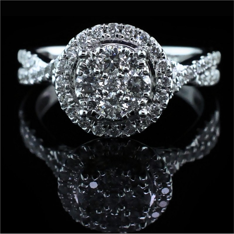 Diamond Engagement Rings - Diamond Engagement Ring - image #4