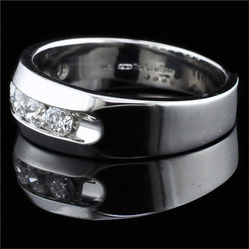 Men's Diamond Wedding Bands - True Romance Diamond Wedding Band - Men's - image 2