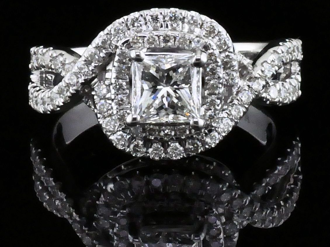 palladium rings princess diamond products cut solitaire firemark ring engagement