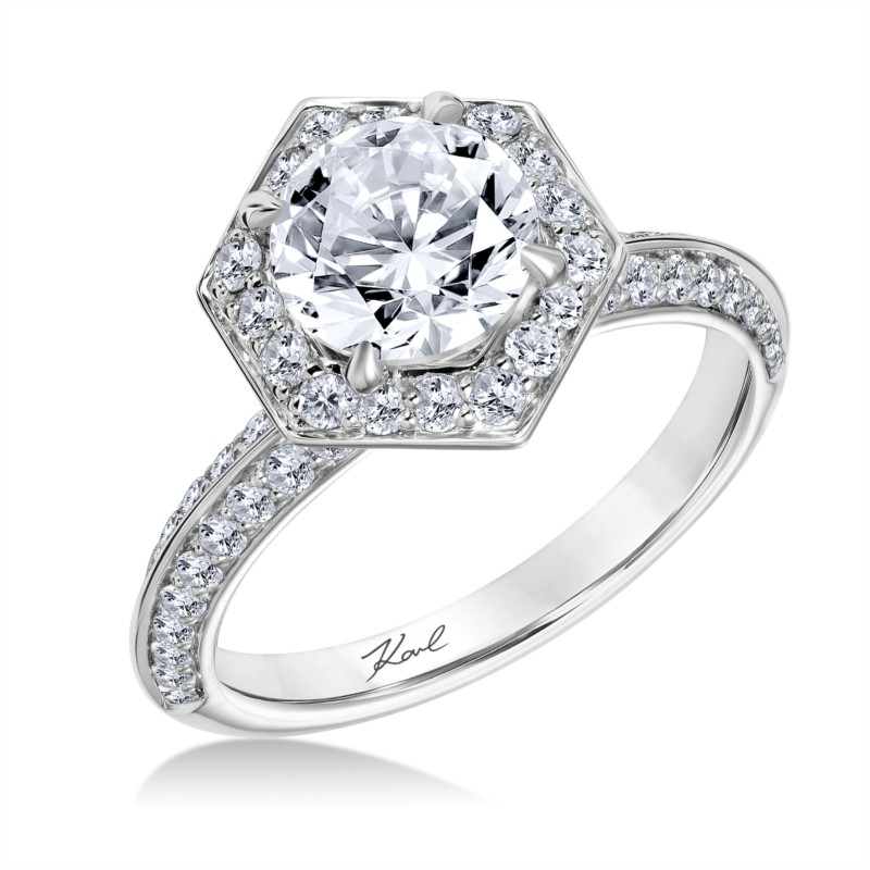 Karl Lagerfeld Engagement Ring 00151600025 Engagement Rings from