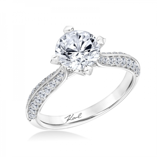 Karl Lagerfeld Engagement Ring 00151600028 Engagement Rings from