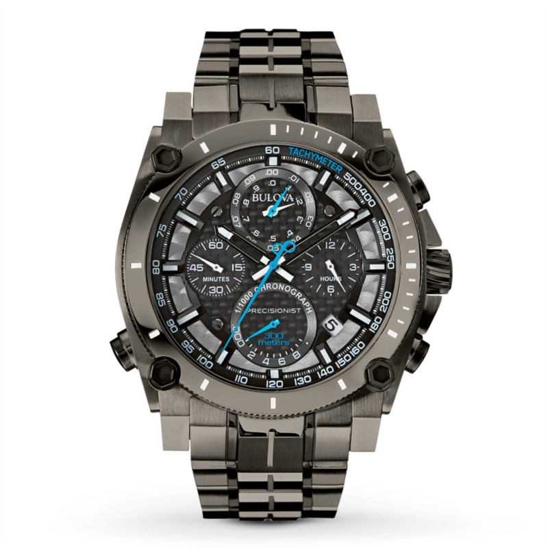 Bulova Precisionist Collection | Chronograph Watch Black Out | Style No. 001-604-00355