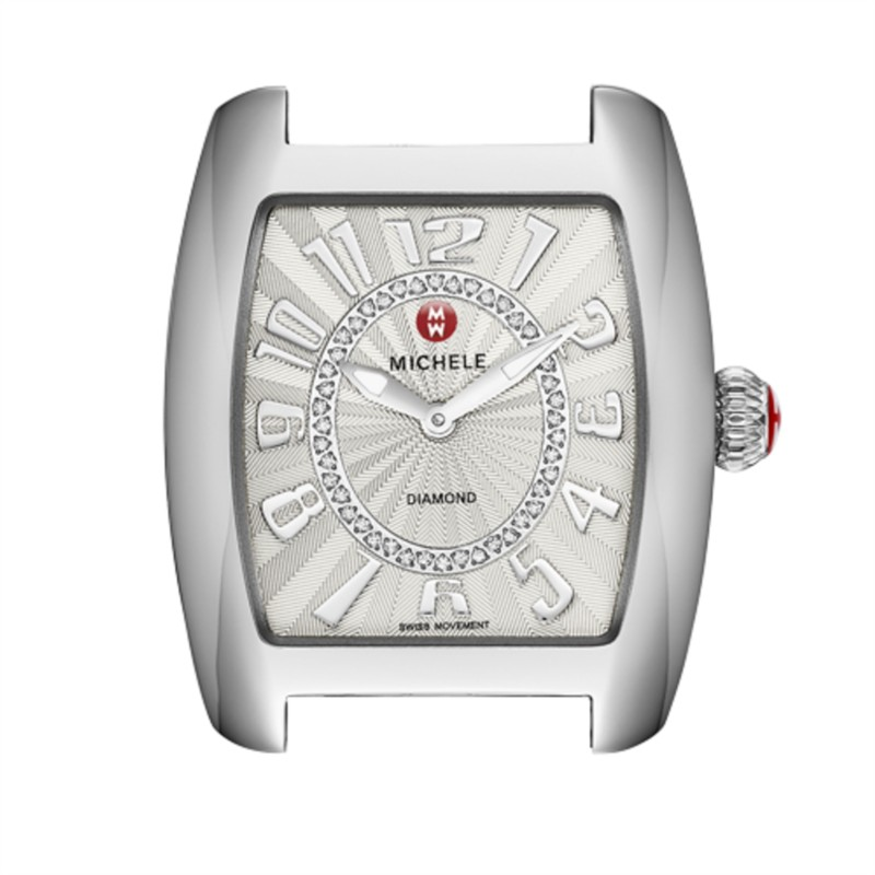 Michele Urban Mini Collection | Watch with Textured Enamel Dial | Style No. 001-608-03351
