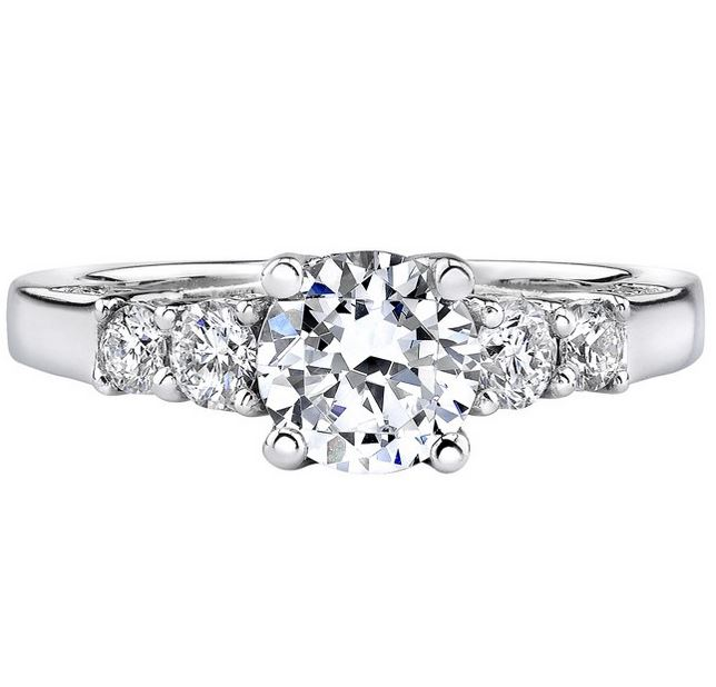 Natalie K | 14K White Gold Diamond Setting | Style No. 001-707-00118