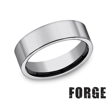 Benchmark | Tungsten 7mm Men's Ring | Style No. 001-709-01148 CF270TG10