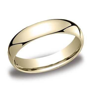 Benchmark | 14K Yellow Gold 5mm Comfort Fit High Polish Wedding Band | Style No. 001-709-01251 LCF15014KY11
