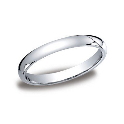 Benchmark | 14K White Gold 2.5mm High Polish Ring | Style No. 001-709-01262 12514KW05