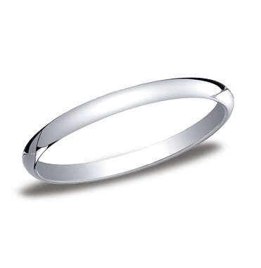Benchmark | 14K White Gold 2mm Comfort Fit Ring | Style No. 001-709-01266 12014KW06