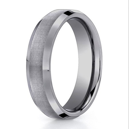 Benchmark | Tungsten 6mm Men's Ring | Style No. 001-709-01336 CF66416TG10