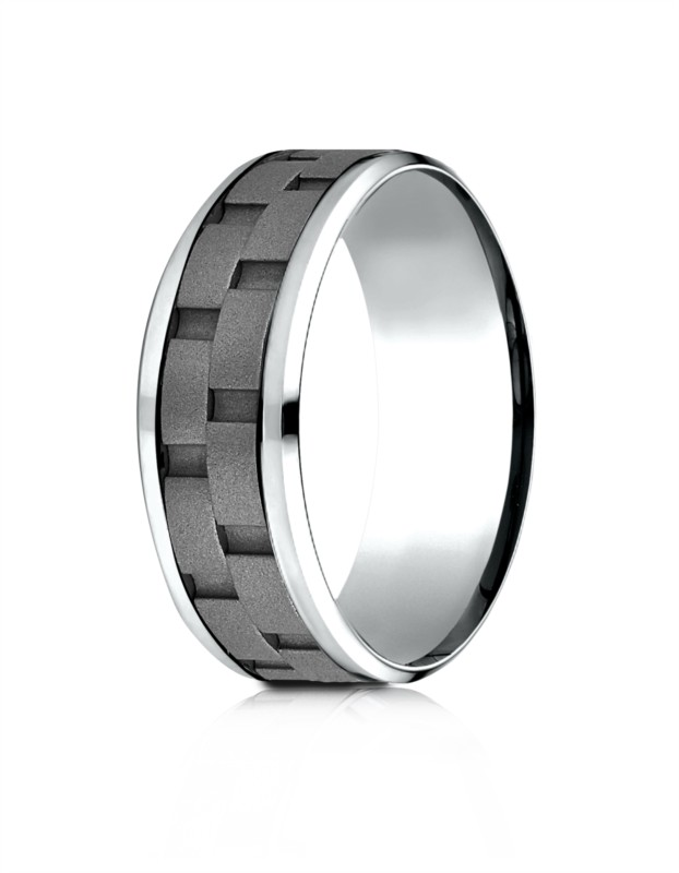 Benchmark | 8mm Cobalt Chrome Comfort Fit Men's Wedding Ring | Style No. 001-709-01605 CF68943CC