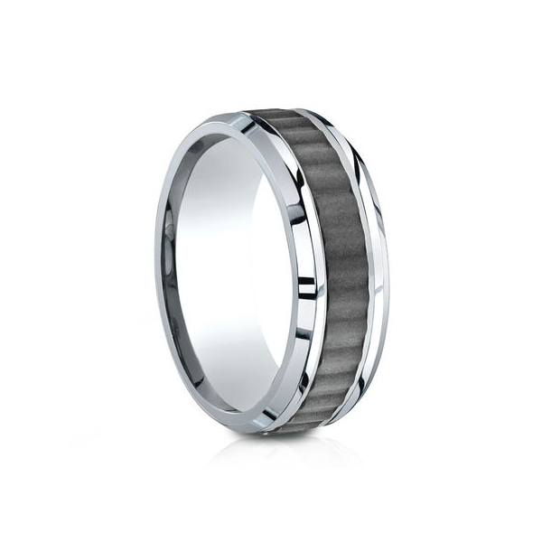 Benchmark | Cobalt Chrome 8mm Comfort Fit Wedding Ring | Style No. 001-709-01609 CF68903CC