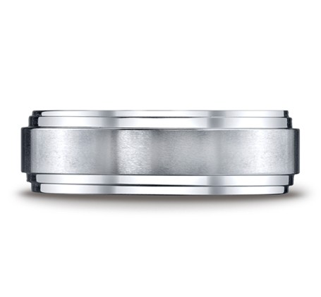 Benchmark | Cobalt Chrome 8mm Comfort Fit Wedding Band | Style No. 001-709-01610 CF68100CC
