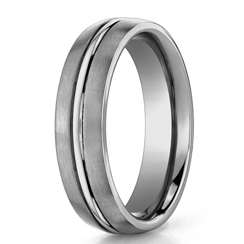Benchmark | 6mm Titanium Comfort Fit Men's Wedding Ring | Style No. 001-709-01681 TI560T10