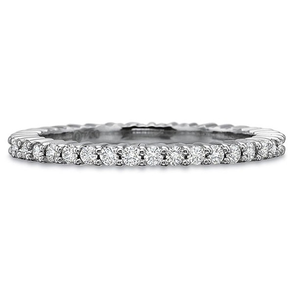Precision Set Wedding Ring | Platinum Eternity Diamond Ring | Style No. 001-711-00306