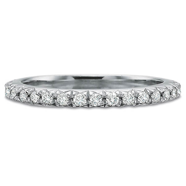 Precision Set Wedding Ring | Prong Set Eternity Diamond Band | Style No. 001-711-00649