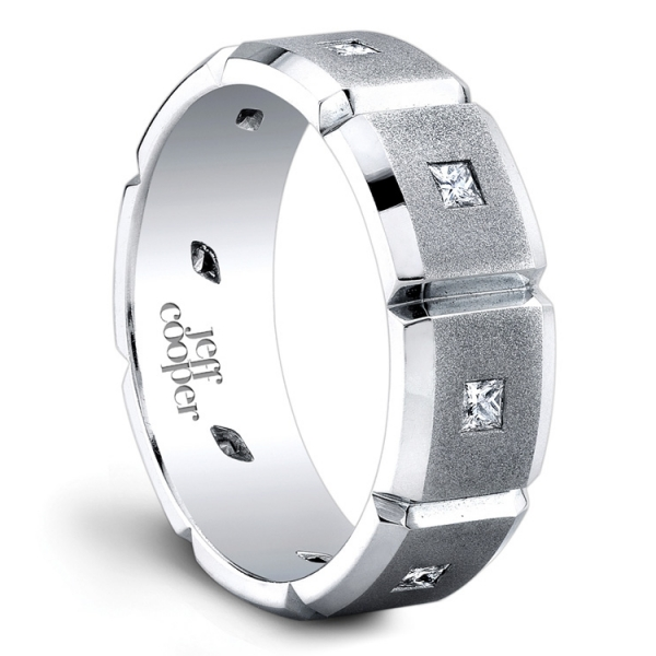 Men's Platinum Wedding Band | Jeff Cooper San Francisco | Style No. 001-730-00169