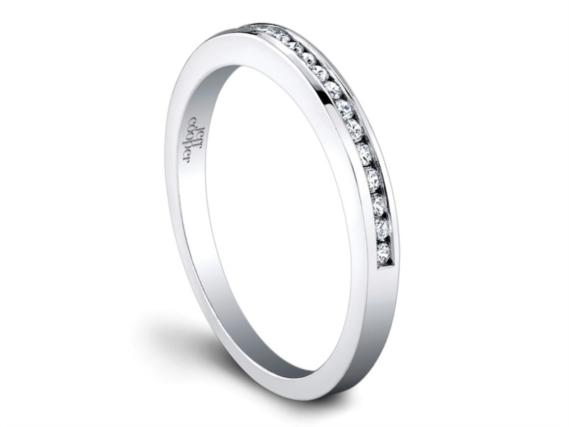 Platinum Woman's Wedding Ring | Jeff Cooper San Francisco | Style No. 001-730-00751