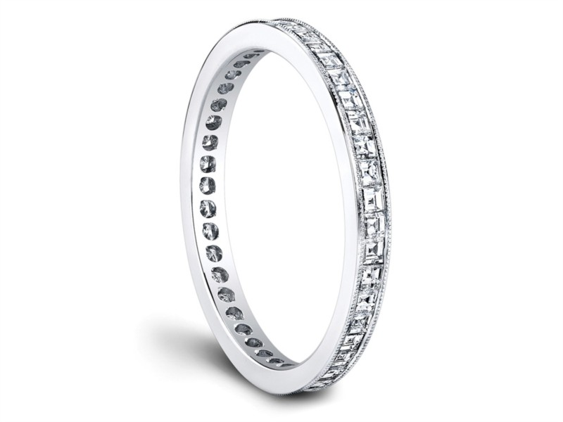 Jeff Cooper | 18K White Gold Eternity Woman's Wedding Band | Style No. 001-730-00851