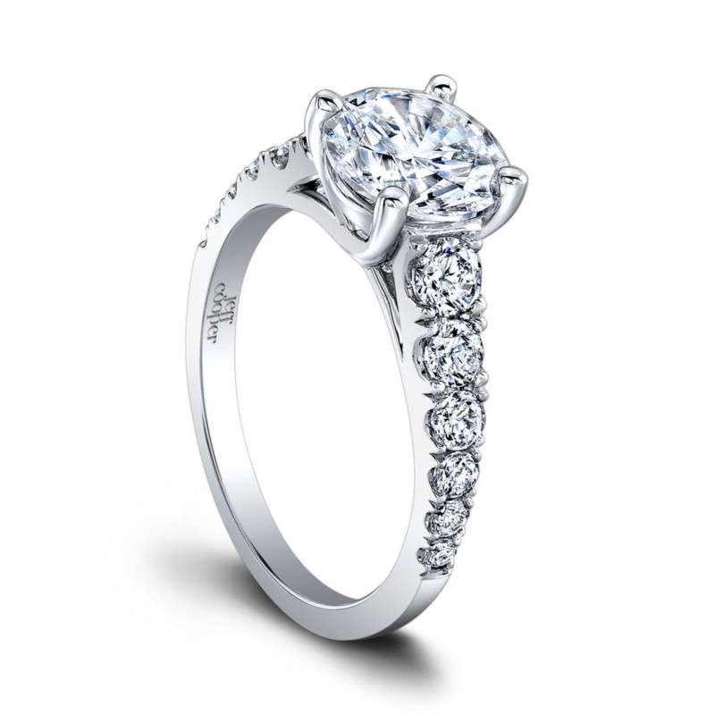 Engagement Ring Jeff Cooper Taffy Collection RP1516/R8.0C14