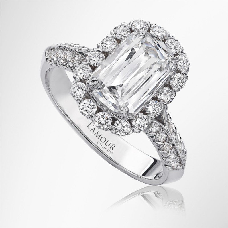 Christopher Designs L'amour Diamond Ring | Olivia Collection | Style No. 001-751-00013