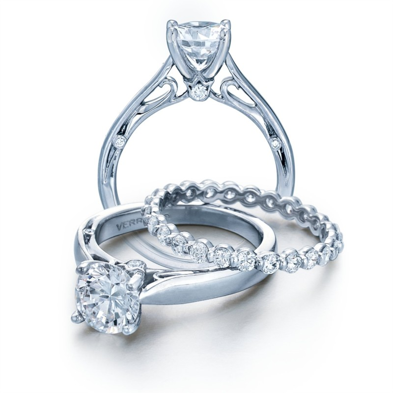 Couture Collection solitaire diamond engagement ring ENG-0409R