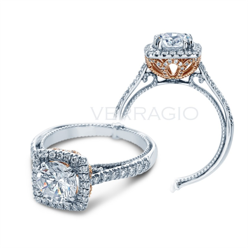 Couture Collection Verragio diamond ring ENG-0433CU-GOLD