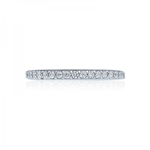 Tacori Dantela Collection | White Gold Diamond Band | Style No. 001-760-02023