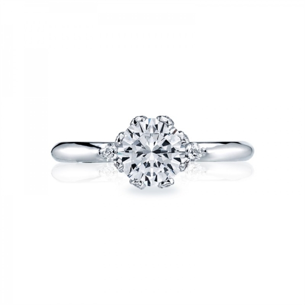 Tacori Simply Tacori Collection | Solitaire Engagement Ring 2535RD65W | Style No. 2565SMRD6.5PK