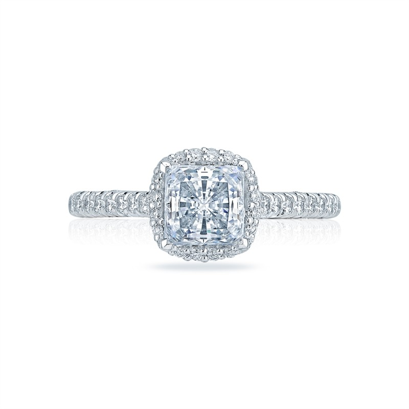 Cathedral Setting Tacori Engagement Ring HT2547PR6W