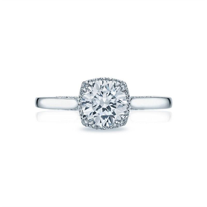 Platinum Tacori Engagement Ring 2620RDPT