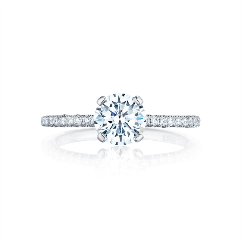 Simply Tacori Woman's Diamond Engagement Ring HT25451.5RD525W