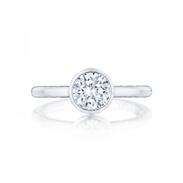 Tacori Starlit Collection | Solitaire Engagement Ring Setting | Style No. 300-2RD6W