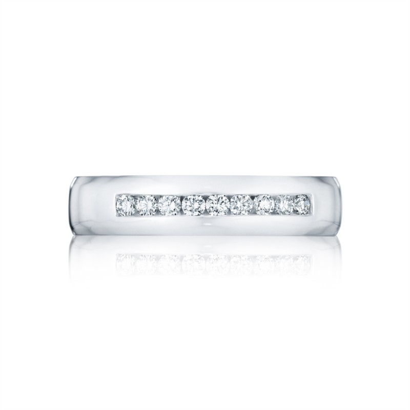 Tacori Sculpted Crescent Collection | Channel Set Diamond Men's Band | Style No. 001-760-03010